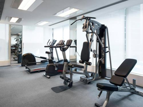 Het fitnesscentrum en/of fitnessfaciliteiten van The Jervois