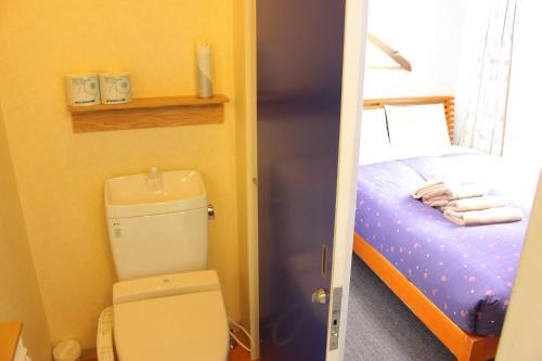 Salle de bains dans l'établissement K's House Tokyo - Travelers Hostel