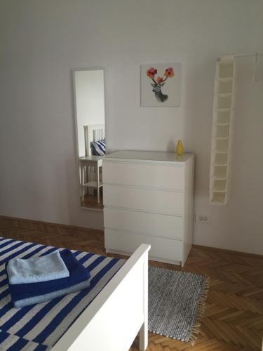 Łóżko lub łóżka w pokoju w obiekcie Villa Terasa