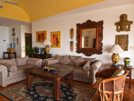 Zona de estar de Casa Isabel a Boutique Hilltop Inn
