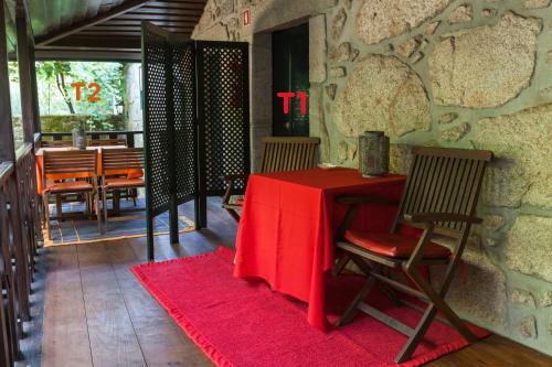 A restaurant or other place to eat at Casa de Assade