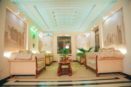 Гостиная зона в Arba Hotel