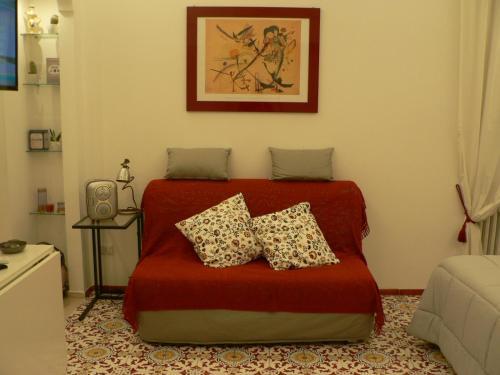 Uma área de estar em Casa Di Giovanna