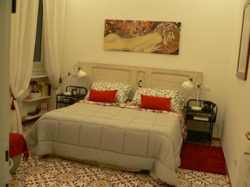 Cama ou camas em um quarto em Casa Di Giovanna