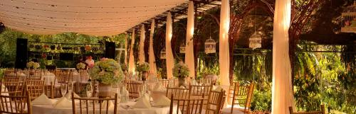 A restaurant or other place to eat at Hotel Boutique La Casona del Cafetal