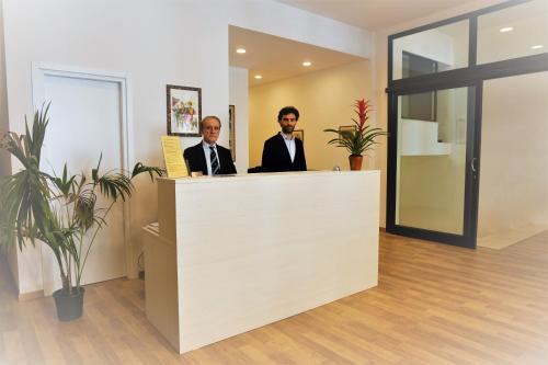 Staff members at I Tetti di Siena