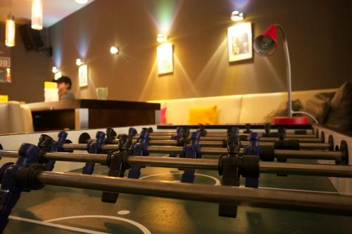 The fitness center and/or fitness facilities at Station - Hostel for Backpackers