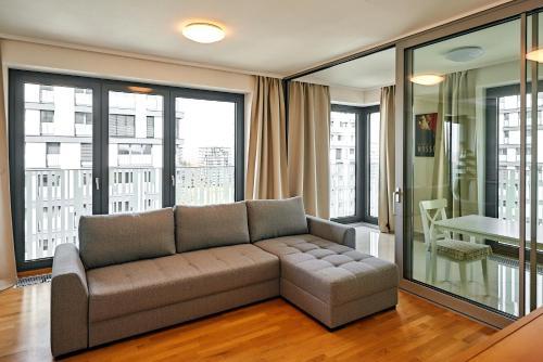 Posezení v ubytování 006 Angel Apartment