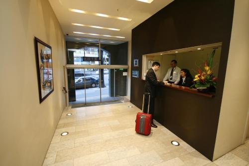 The lobby or reception area at Best Western Plus Hotel Stellar