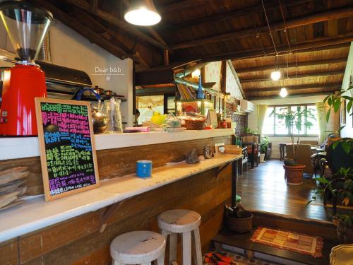 The lounge or bar area at Qi Tang lane