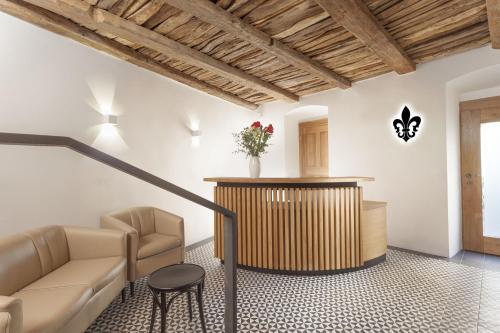 Vstupní hala nebo recepce v ubytování U Bílé Lilie