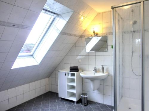 Ein Badezimmer in der Unterkunft Villa Hermes