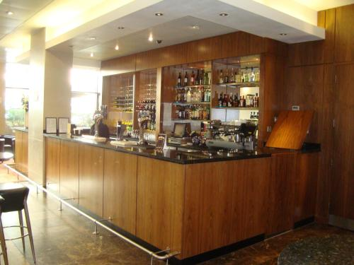 The lounge or bar area at Central Park Hotel