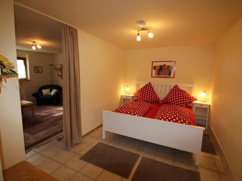 Ein Bett oder Betten in einem Zimmer der Unterkunft Werner Ferienwohnung