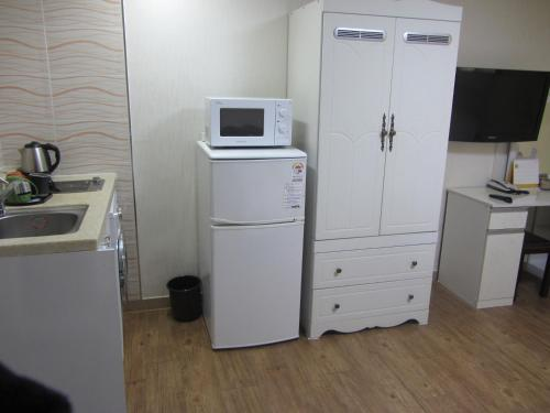 A kitchen or kitchenette at Stay Seoul Residence