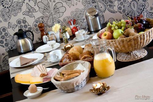 Ontbijt beschikbaar voor gasten van Hotel Fleur de Lys