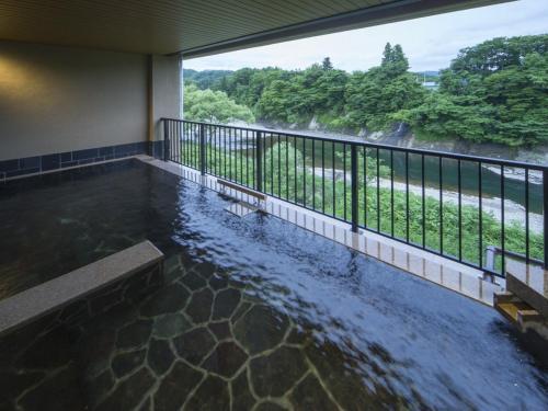 The swimming pool at or near Hotel Tairyukaku