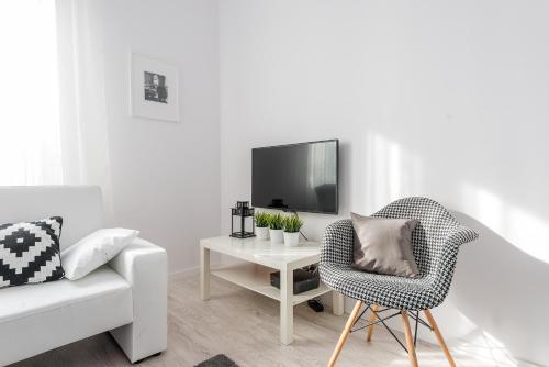 Część wypoczynkowa w obiekcie P&O Apartments Andersa INTRACO