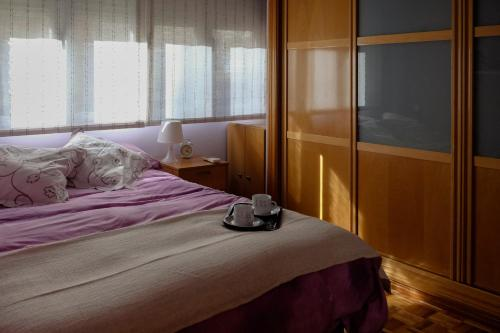 Cama o camas de una habitación en Apartamento Montesa