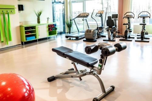 The fitness center and/or fitness facilities at TUI BLUE Fleesensee