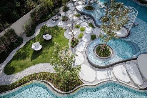 A view of the pool at 2Bedroom Summer by Sansiri 219 or nearby