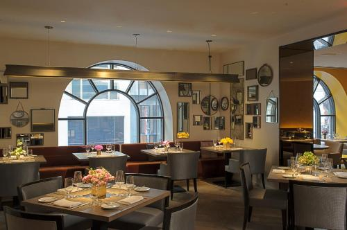 A restaurant or other place to eat at The Peninsula New York