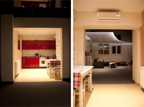 Kuchnia lub aneks kuchenny w obiekcie Kapart Home