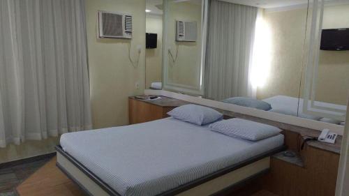Cama ou camas em um quarto em Motel Skorpios ( Adults only)