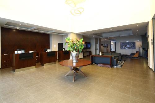 The lobby or reception area at Casa Andina Select Tacna