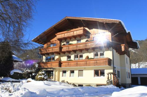 Haus Alexander v zimě