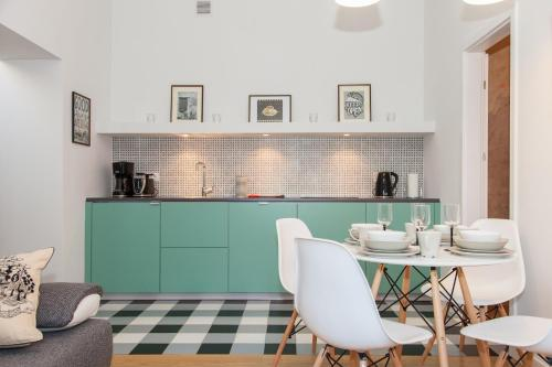 Kuchnia lub aneks kuchenny w obiekcie BC7 Apartments