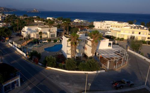 A bird's-eye view of Antonis Hotel