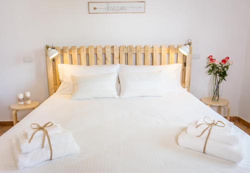 Letto o letti in una camera di Bonjour Bonheur