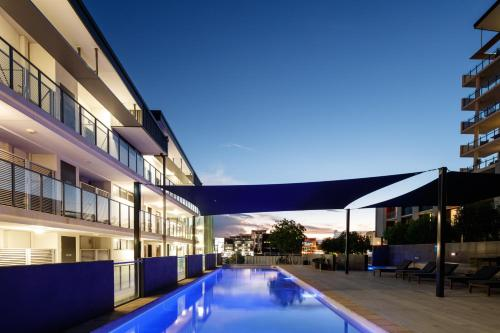 The swimming pool at or near Direct Hotels-Islington at Central