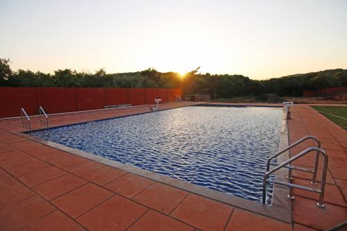 The swimming pool at or near Forest County Resort