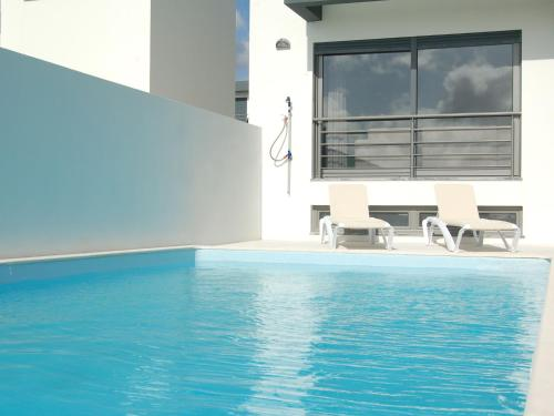 The swimming pool at or near Super luxury villa with a private pool and game room, about 400 m from the ocean