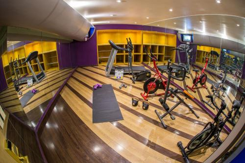 The fitness center and/or fitness facilities at Hotel Grand Prix Aeropuerto CDMX