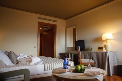 Cama o camas de una habitación en Parador de Segovia