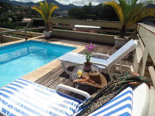 The swimming pool at or near Barão Palace Hotel