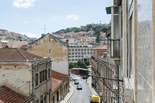 Uma varanda ou terraço em Cozy Apartment with Castel view