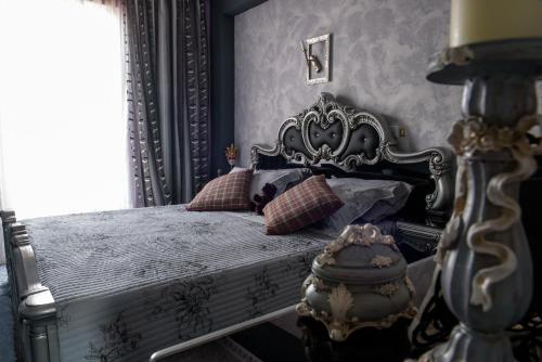 Ένα ή περισσότερα κρεβάτια σε δωμάτιο στο Katerina's Studios