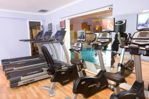 The fitness center and/or fitness facilities at Kingsmills Hotel, Inverness