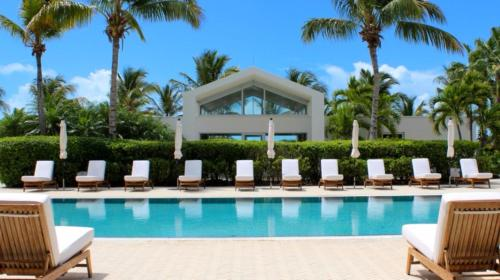 The swimming pool at or near Le Vele Resort