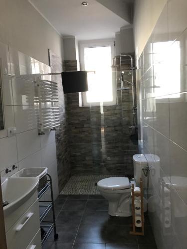 Łazienka w obiekcie Apartament Żeglarski