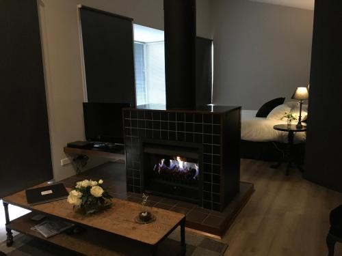 A television and/or entertainment center at Indulge at Daylesford