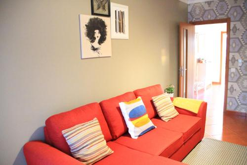 A seating area at My Sweet Home