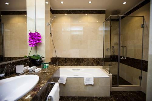 A bathroom at Orion Hotel