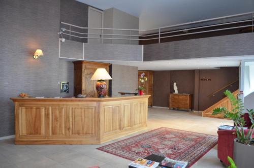 Hall ou réception de l'établissement Hôtel Terminus