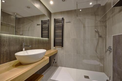Ванная комната в Pensjonat Tatry