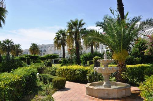 A garden outside Hasdrubal Thalassa & Spa Port El Kantaoui